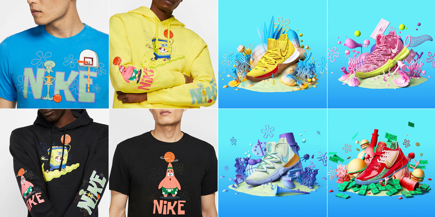 nike-kyrie-spongebob-clothing-sneakers