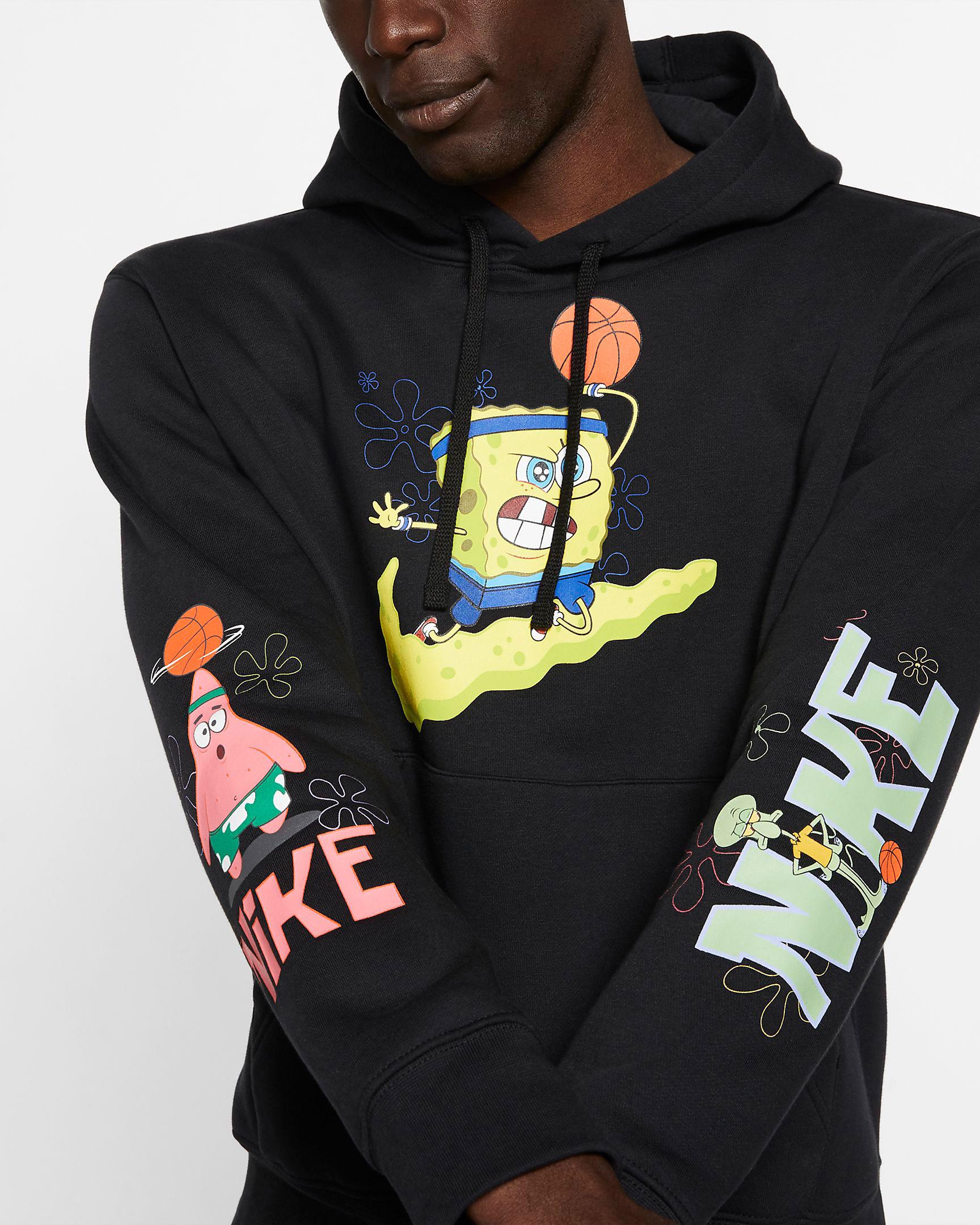 Nike Kyrie Spongebob Hoodies Now Available |