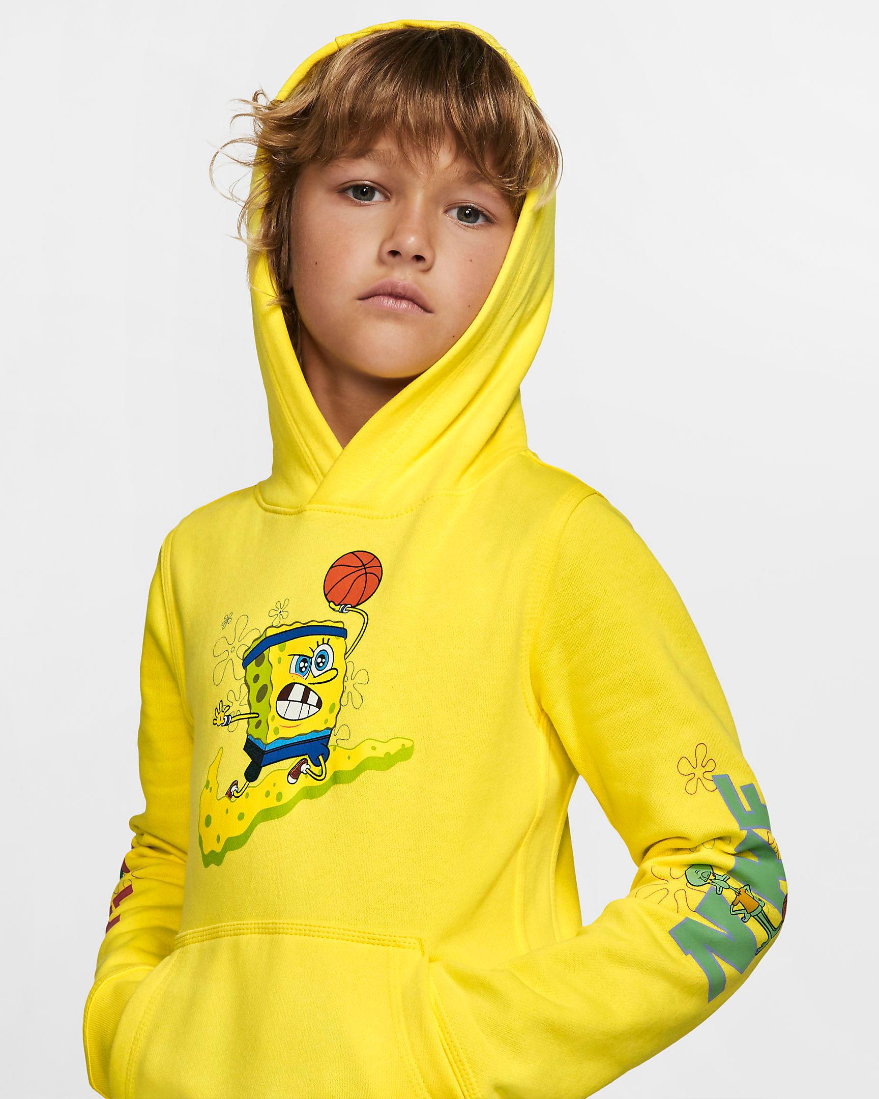 nike-kyrie-spongebob-kids-hoodie-yellow-1