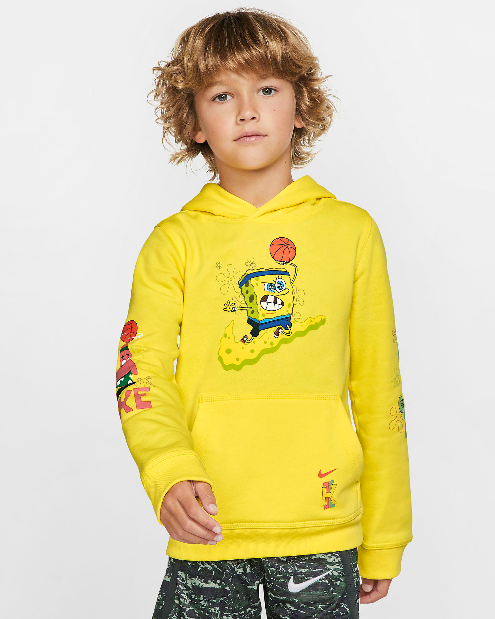 nike-kyrie-spongebob-kids-hoodie-yellow-2