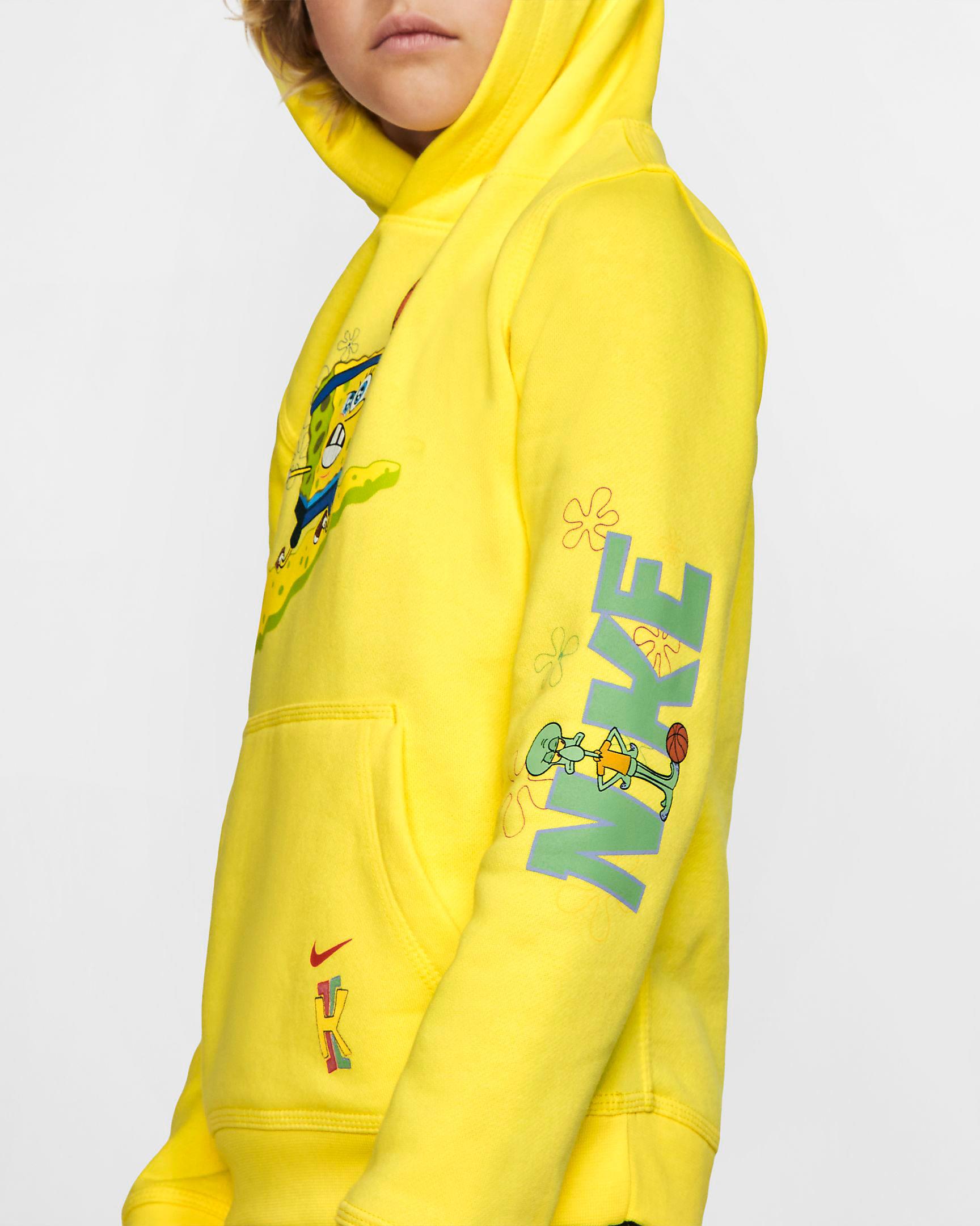 nike-kyrie-spongebob-kids-hoodie-yellow-3