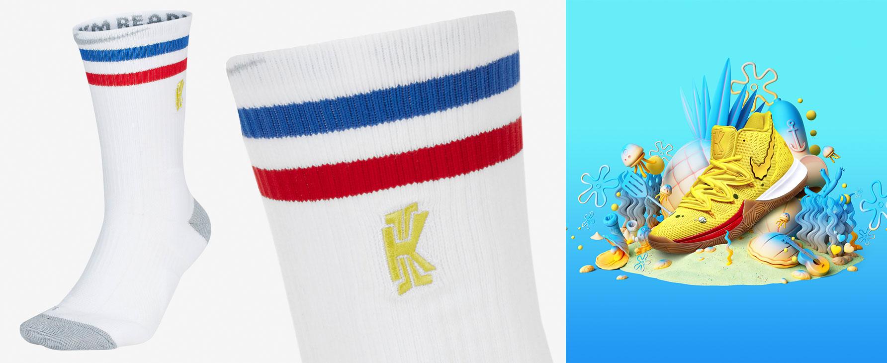 spongebob-nike-kyrie-socks