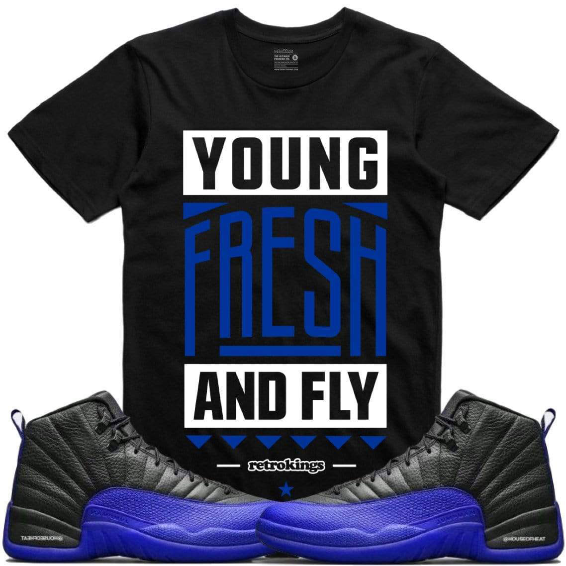 air-jordan-12-game-royal-sneaker-tee-shirt-retro-kings-11