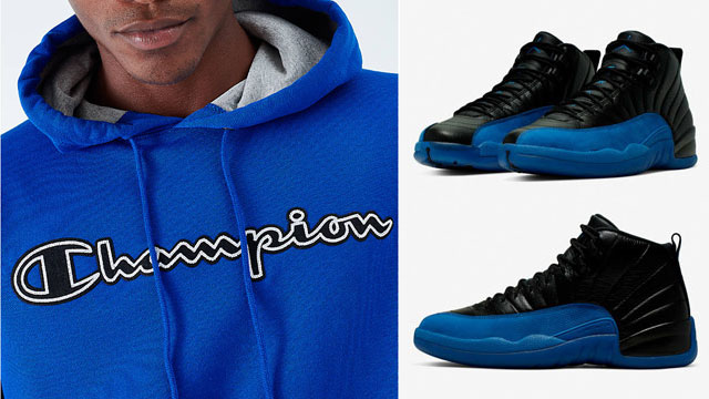 jordan-12-game-royal-apparel-match