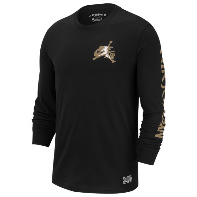 jordan-jumpman-classics-smashup-black-gold-long-sleeve-tee-shirt