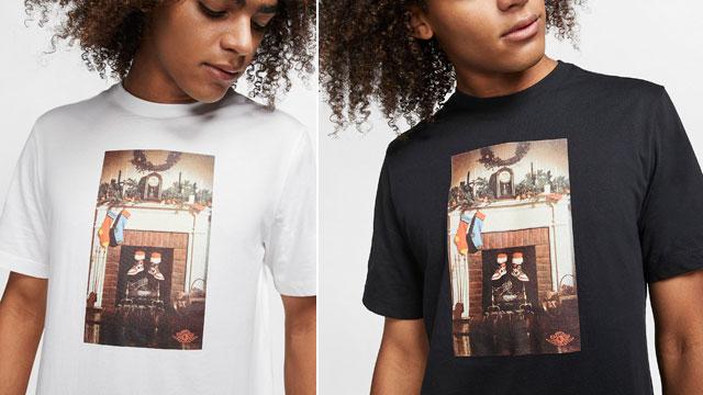 jordan-santa-christmas-tee-shirt