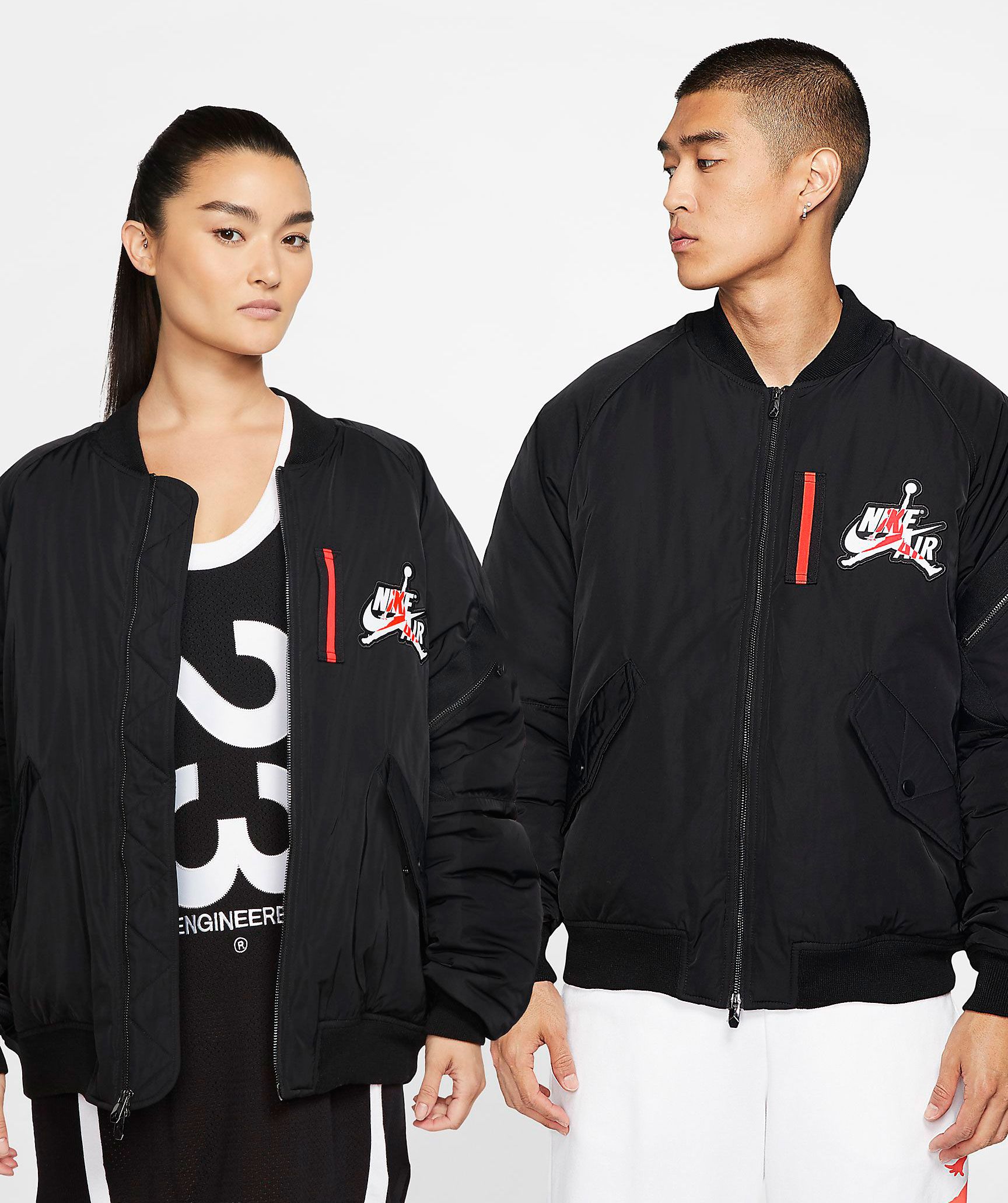 Universidad En cantidad Negligencia médica  Jordan Black Infrared Wings MA 1 Jacket | SneakerFits.com