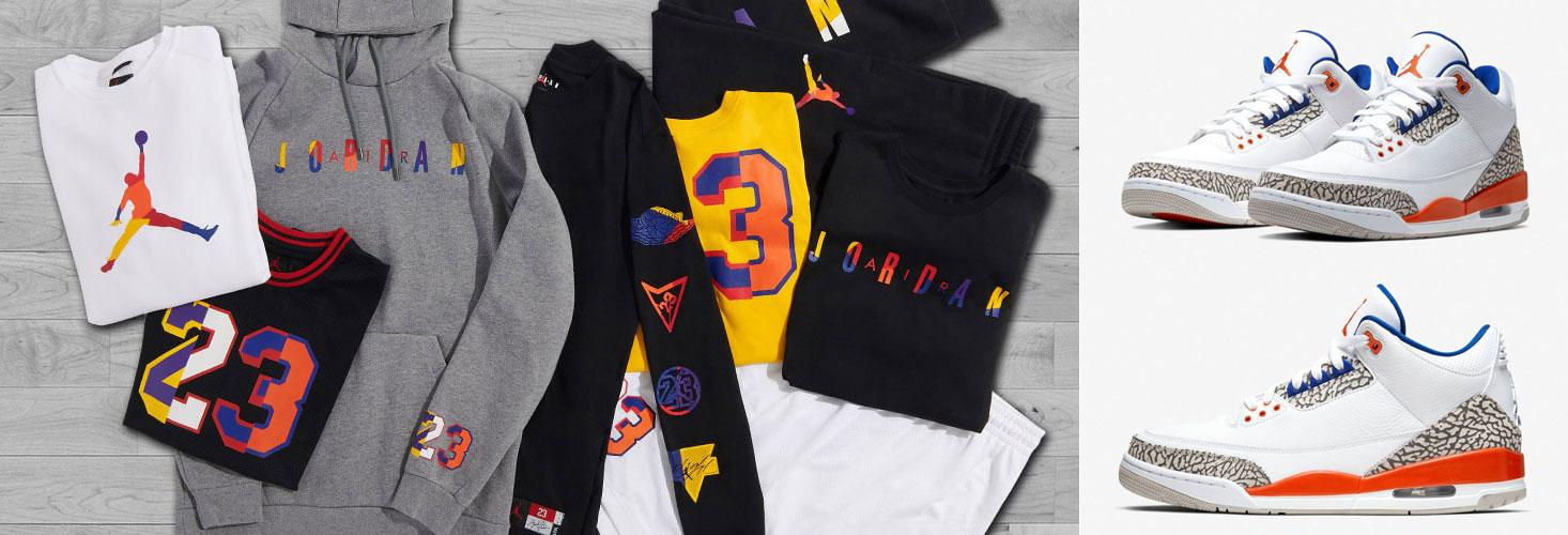 separation shoes fd77c 3e75d Air Jordan 3 Knicks Sneaker Outfits and Matching Gear ...