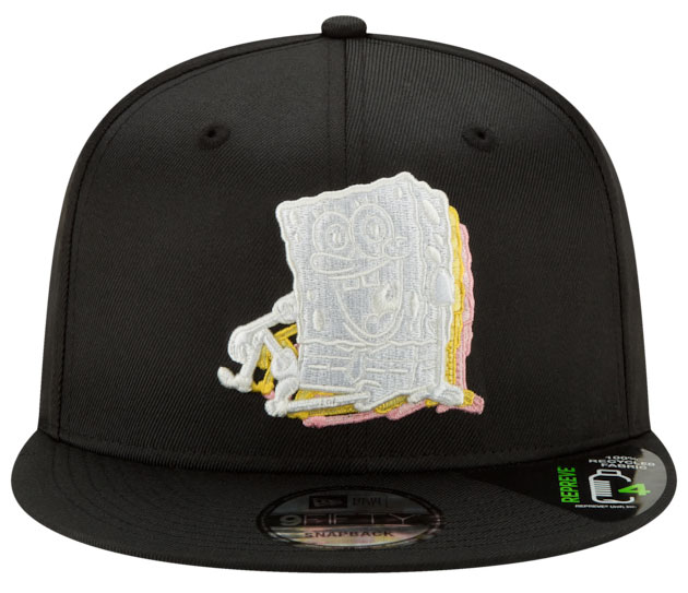 nike-kyrie-spongebob-new-era-snapback-hat-match-2