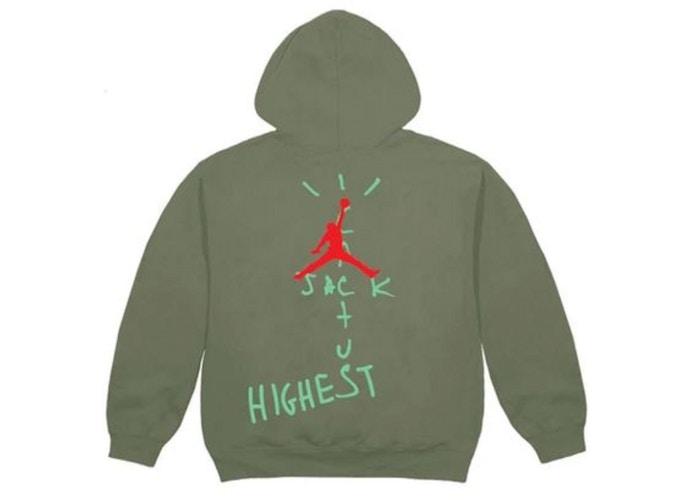 Travis-Scott-Jordan-Cactus-Jack-Highest-Hoodie-Olive-2
