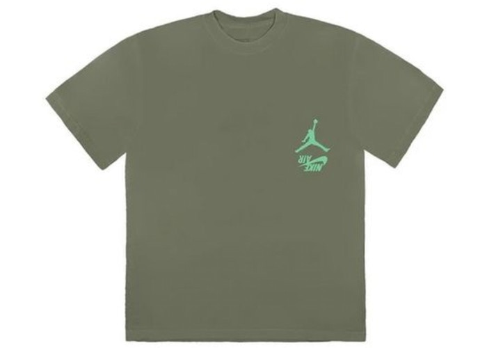 Travis-Scott-Jordan-Cactus-Jack-Highest-T-Shirt-Olive