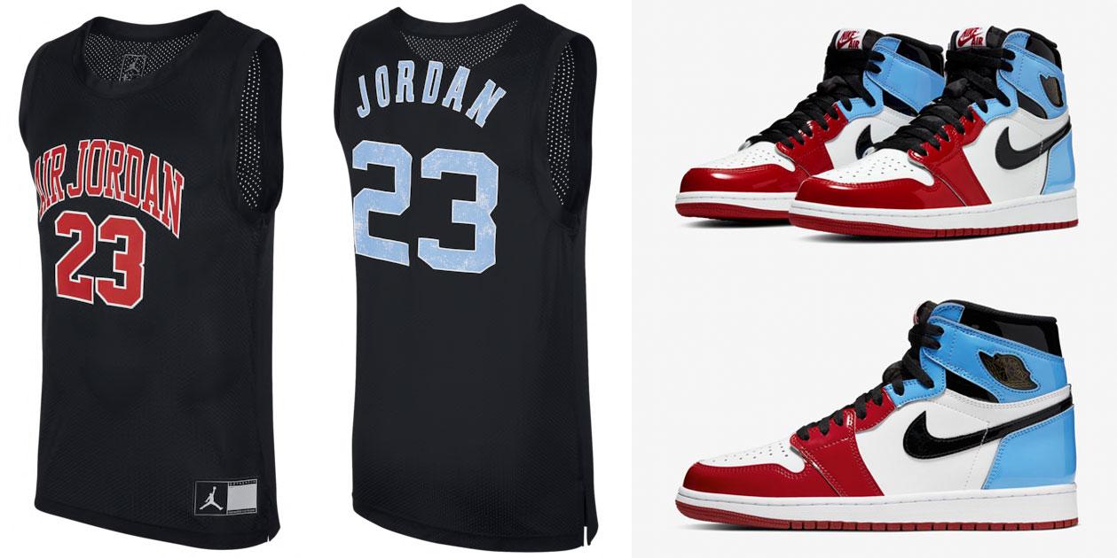 air-jordan-1-high-unc-chicago-jersey-shirt