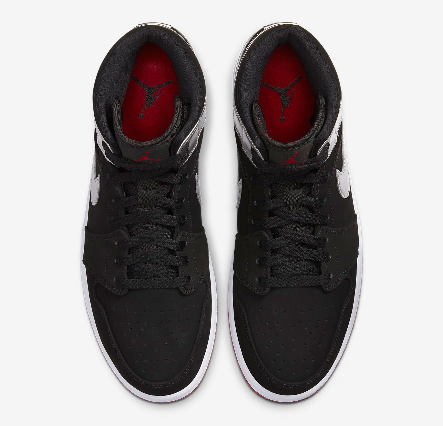 air-jordan-1-mid-black-silver-red-4