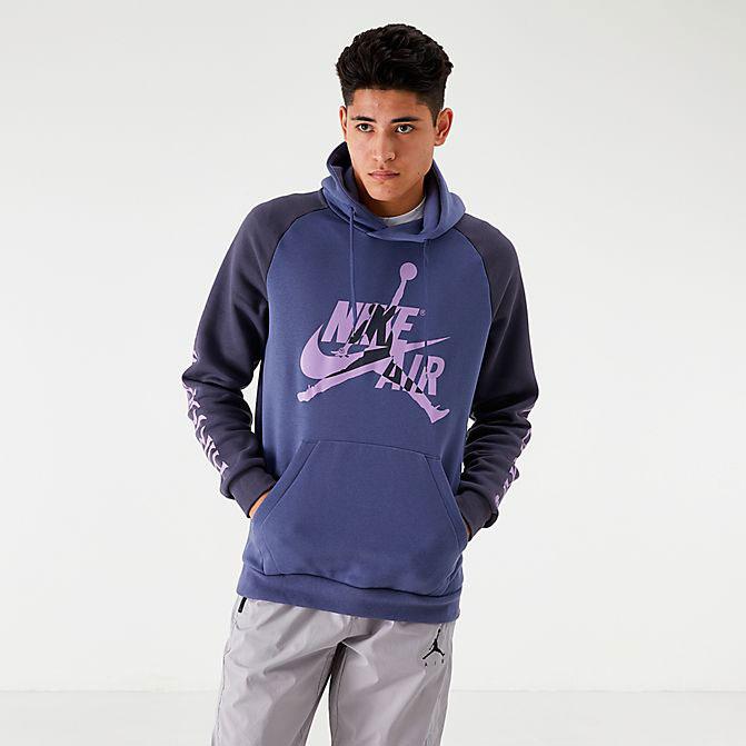 Air Jordan 1 Mid Sanded Purple Shirt