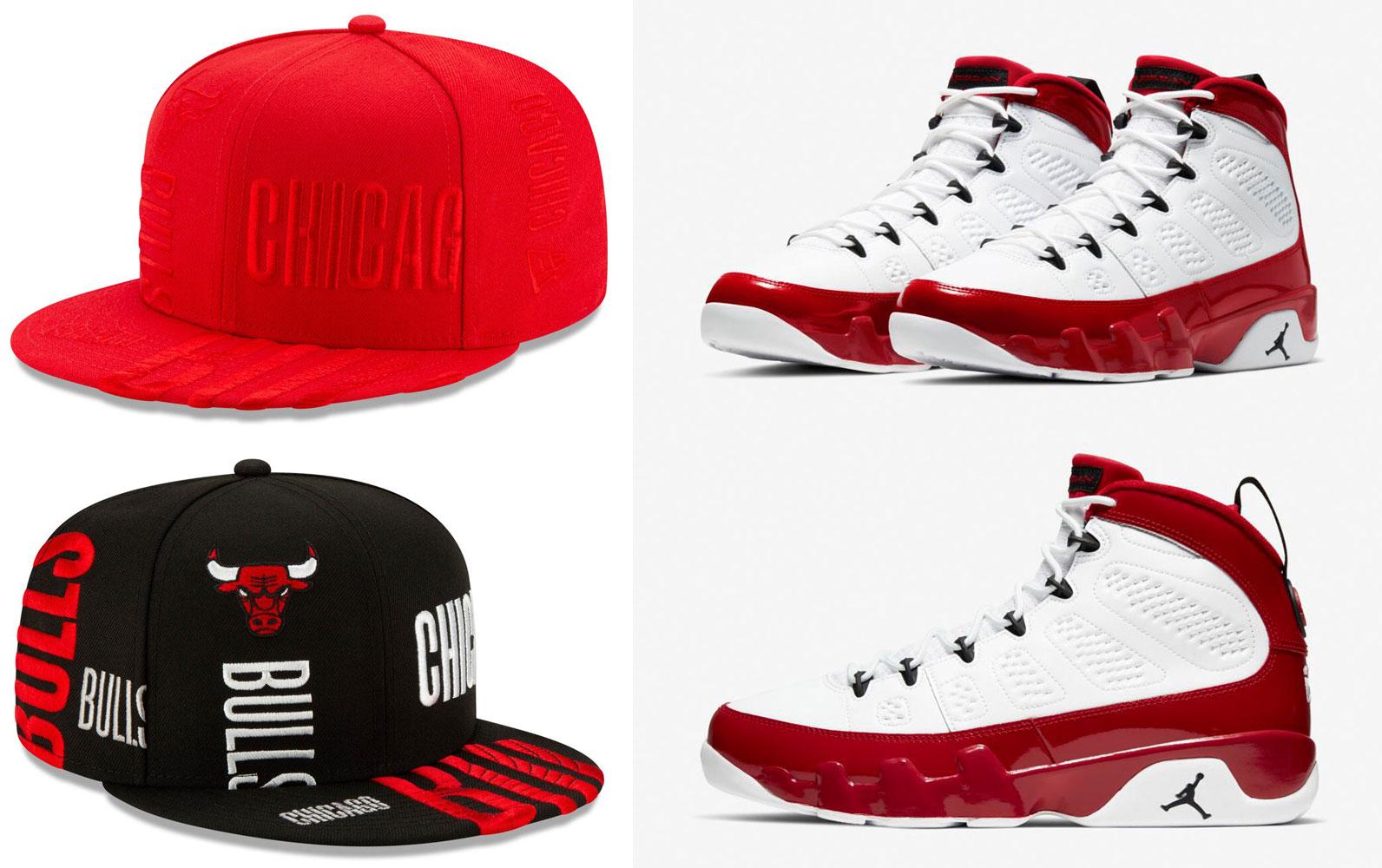 air-jordan-9-gym-red-chicago-bulls-hats