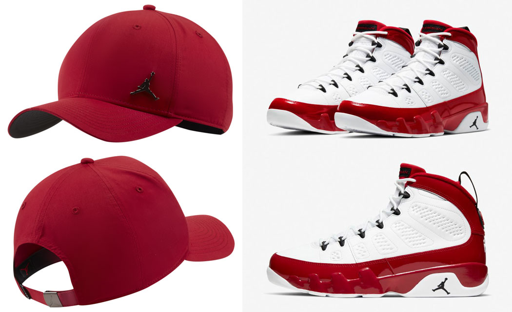 air-jordan-9-gym-red-hat-match-1