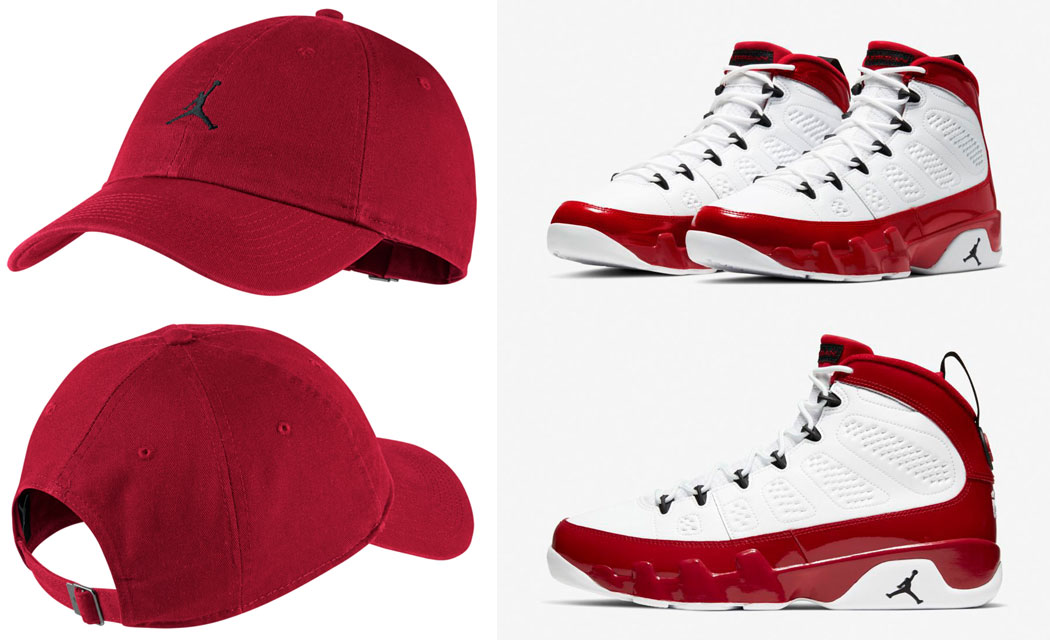 air-jordan-9-gym-red-hat-match-2