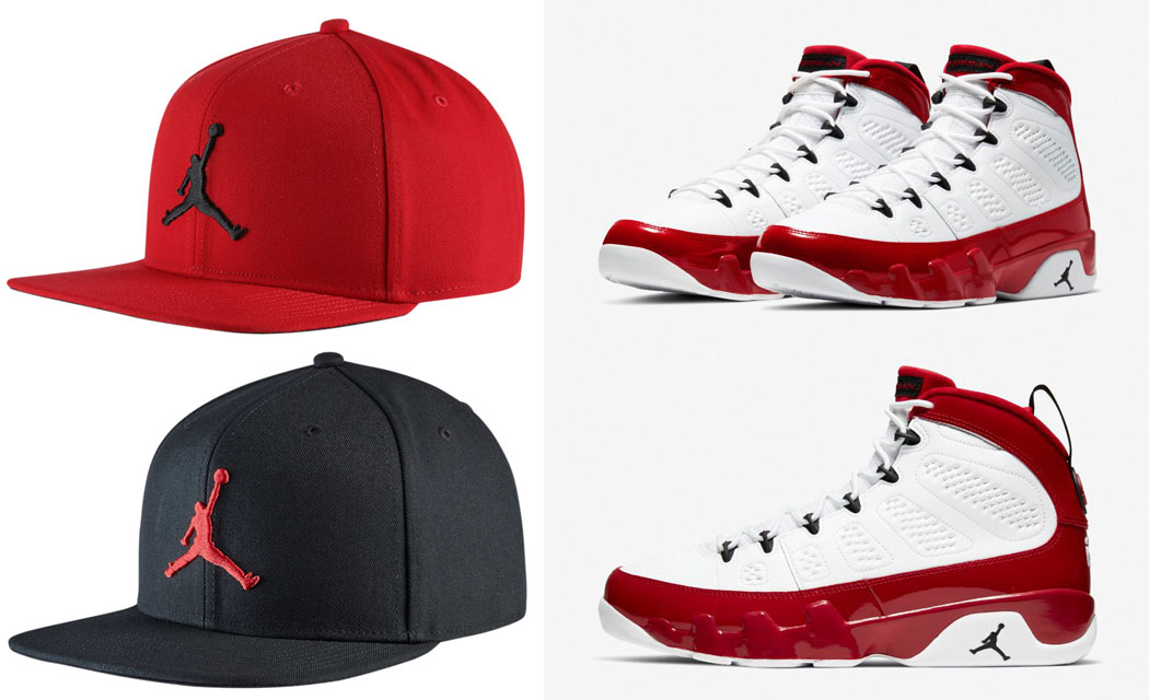 air-jordan-9-gym-red-snapback-hat-match