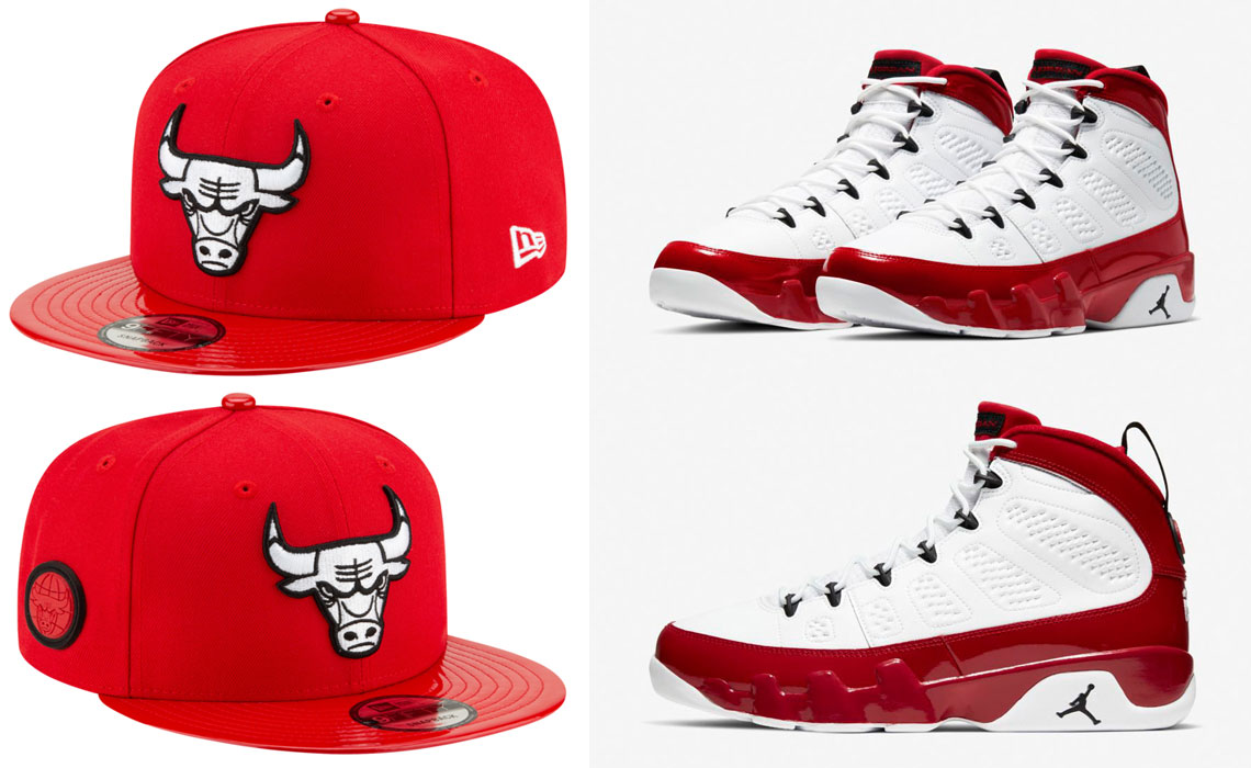 air-jordan-9-white-gym-red-bulls-hat