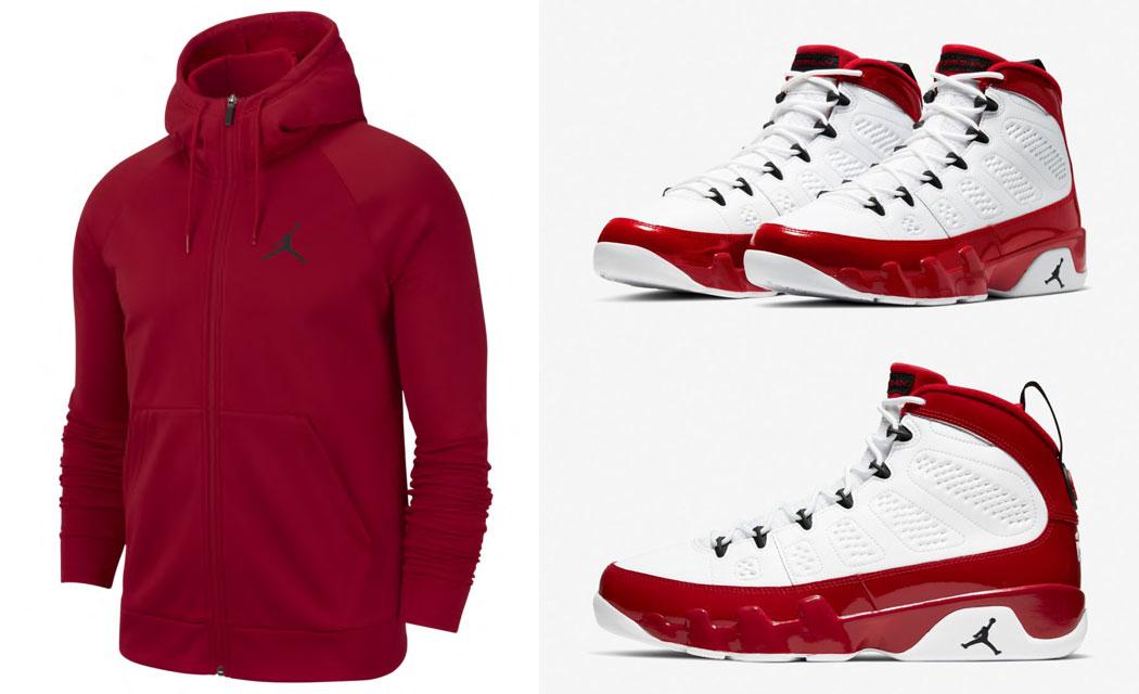 air-jordan-9-white-gym-red-hoodie-match-5