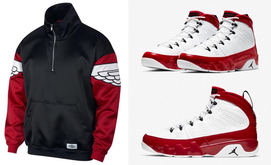 air-jordan-9-white-gym-red-jacket-match-5