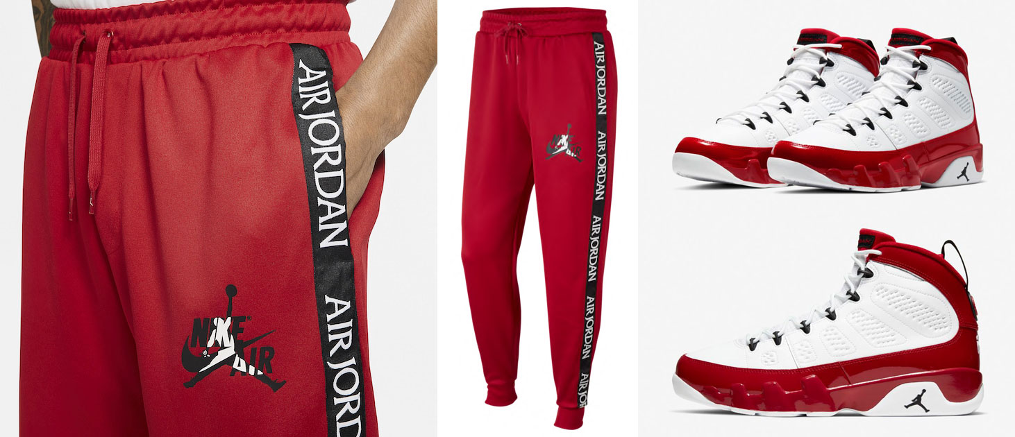 air-jordan-9-white-gym-red-pants