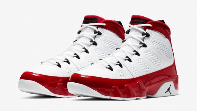 Air Jordan 9 White Gym Red Release Date