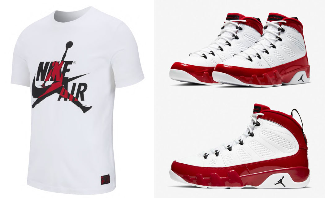 air-jordan-9-white-gym-red-shirt-match-1