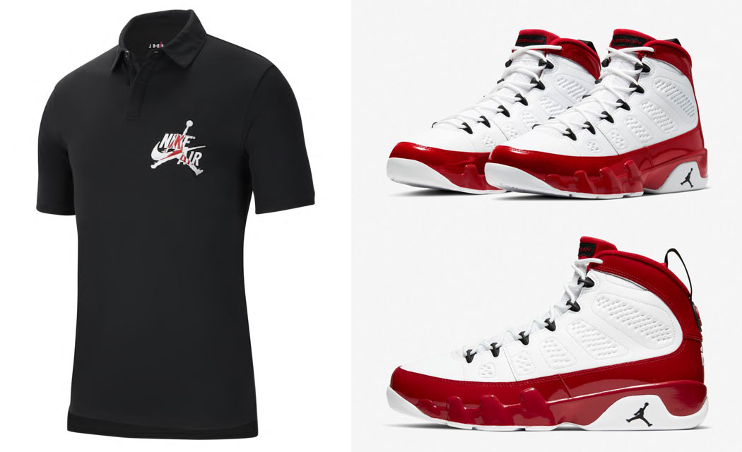 air-jordan-9-white-gym-red-shirt-match-13