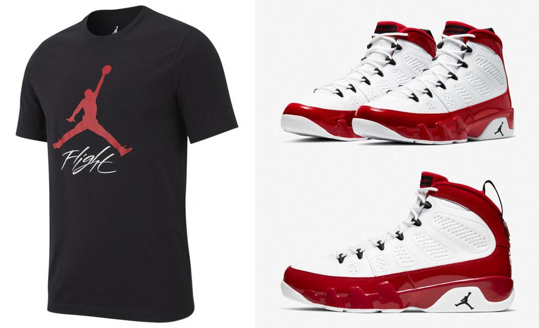 air-jordan-9-white-gym-red-shirt-match-4