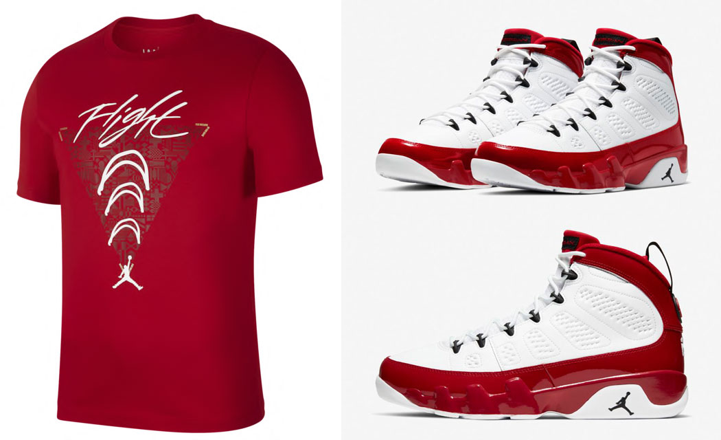 air-jordan-9-white-gym-red-shirt-match-6