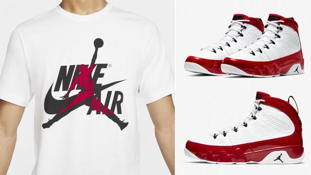 air-jordan-9-white-gym-red-sneaker-tees