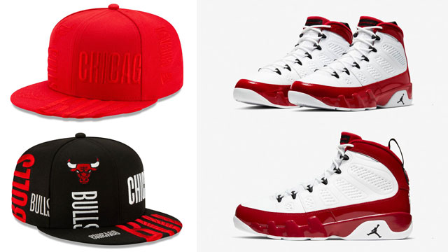 jordan-9-gym-red-chicago-bulls-caps