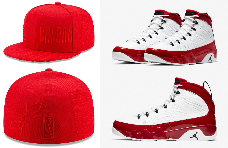 jordan-9-gym-red-new-era-bulls-fitted-cap-match