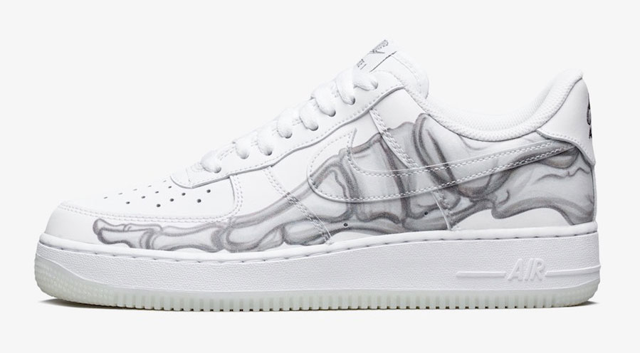 nike-air-force-1-low-white-skeleton-release-date
