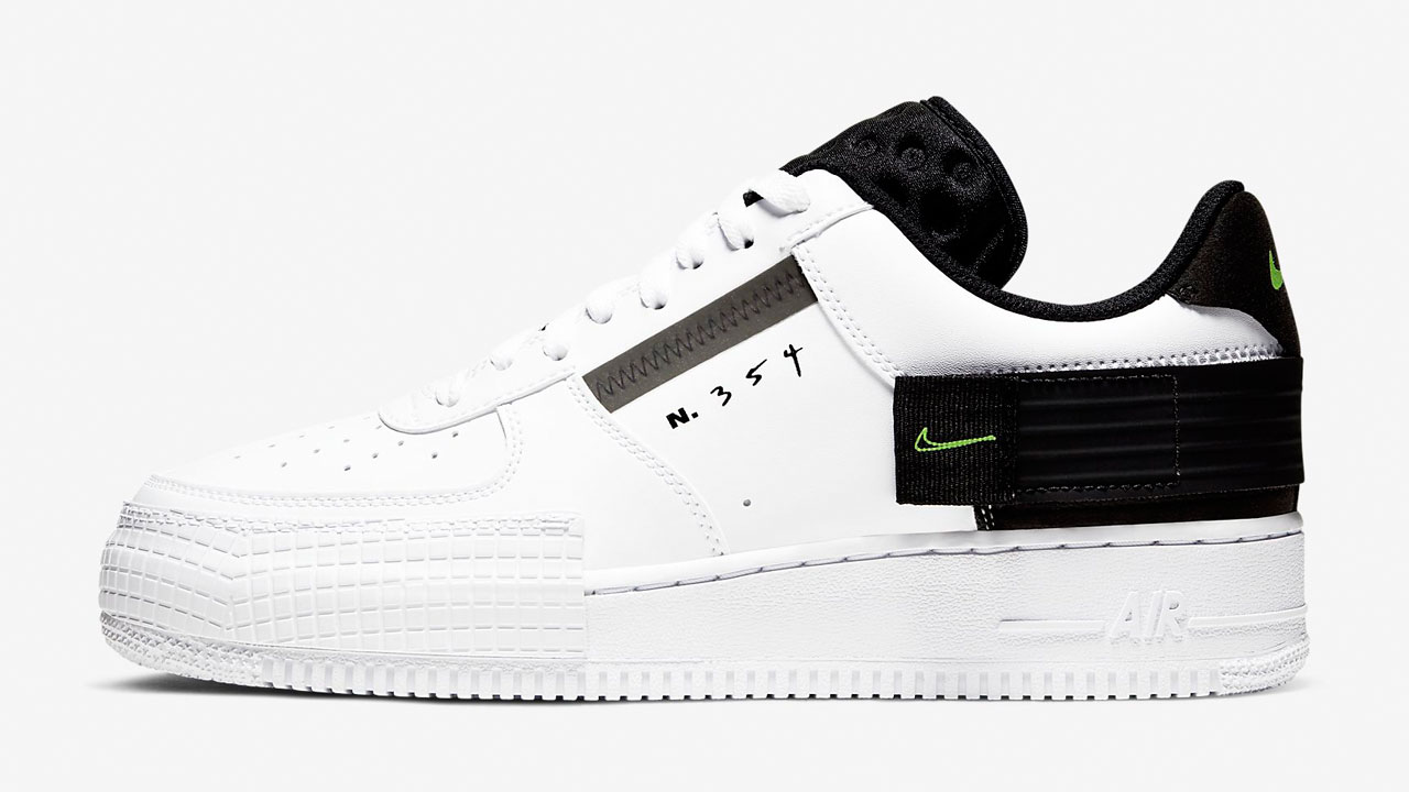 nike-air-force-1-type-white-black-volt-release-date