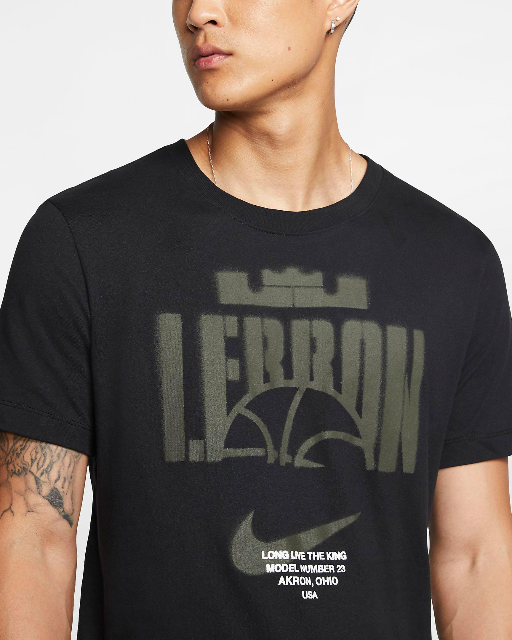 nike-lebron-17-black-white-shirt-match-1