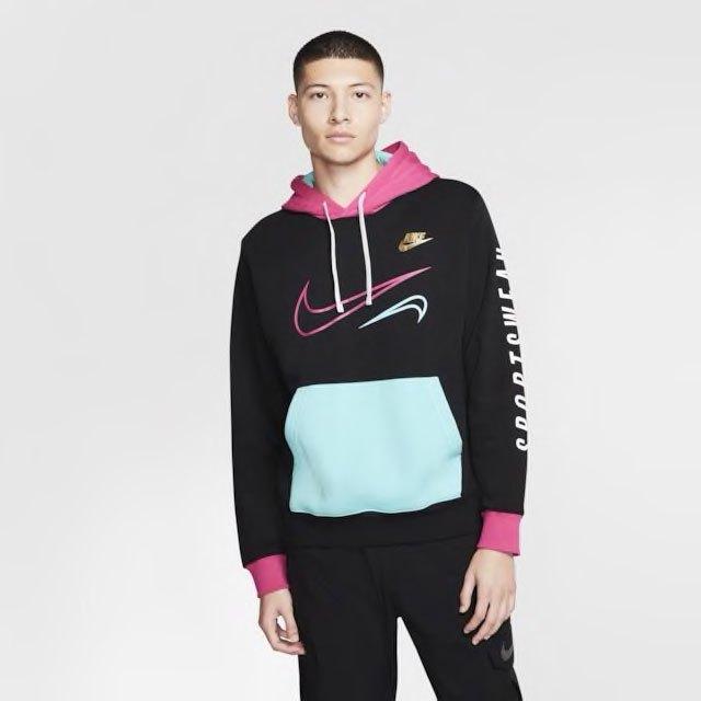 nike-miami-south-beach-club-hoodie-black-aqua-pink-1