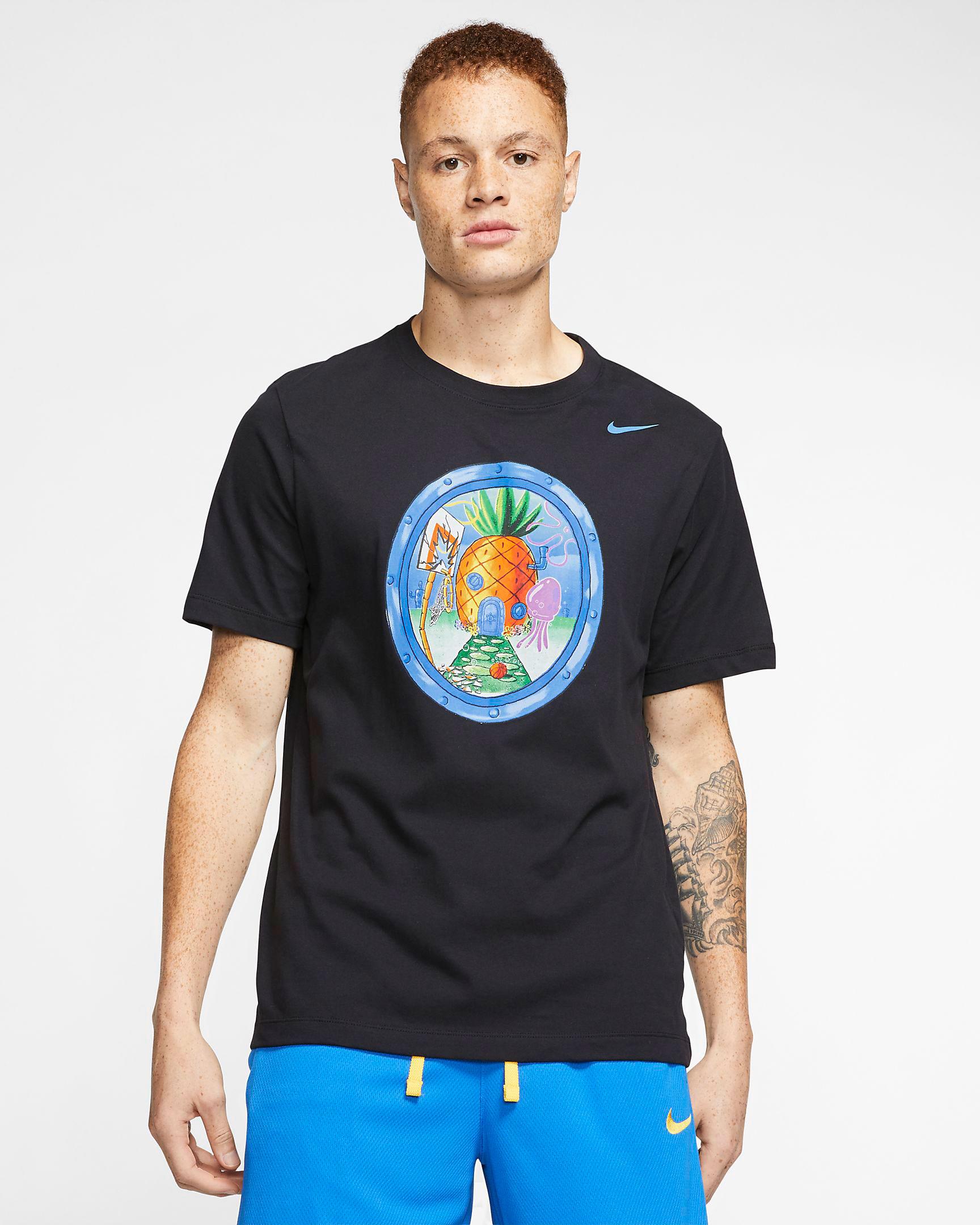 spongebob-nike-kyrie-pineapple-house-shirt-1