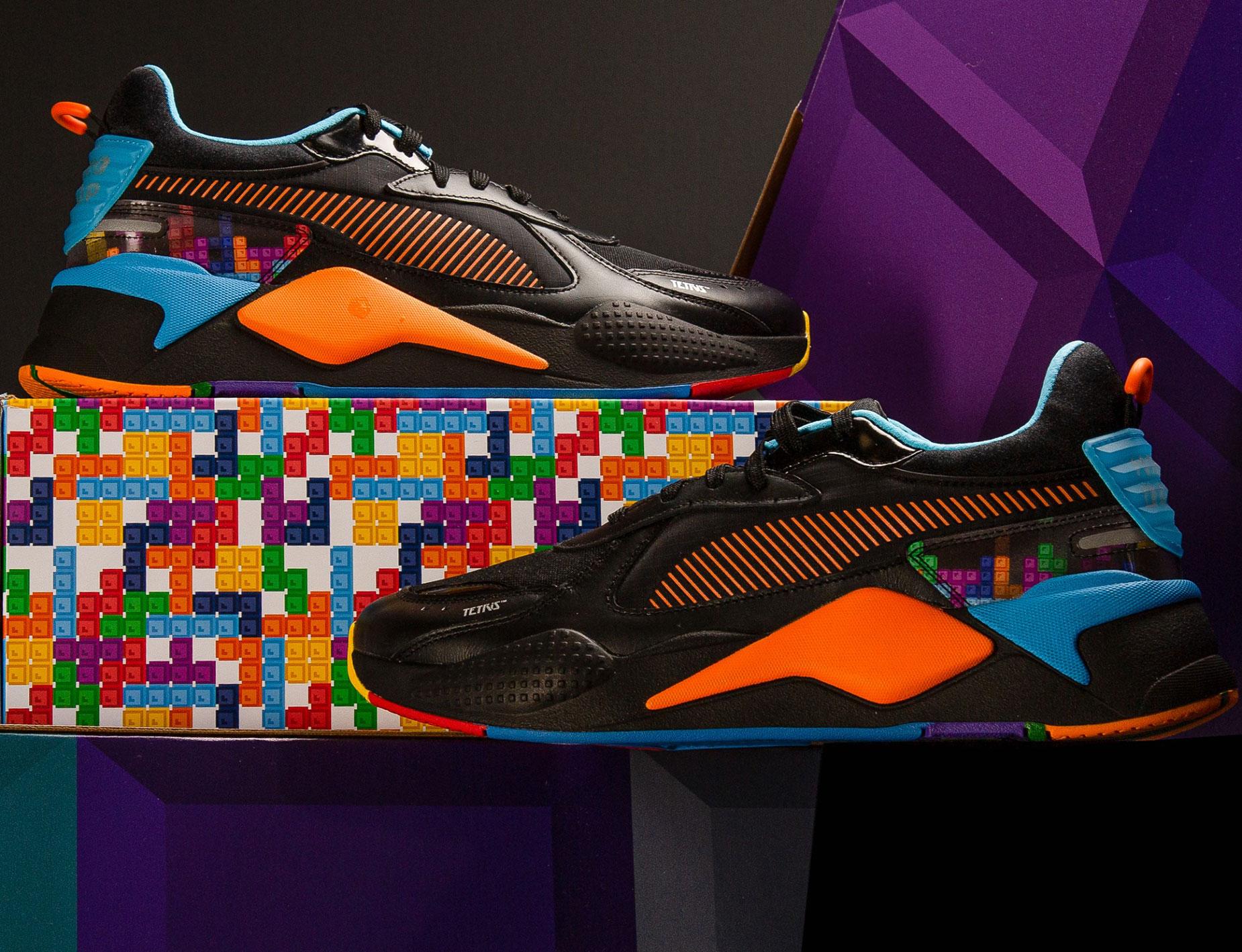 Puma X Tetris Shoes Shirts Jacket And Pants Sneakerfits Com