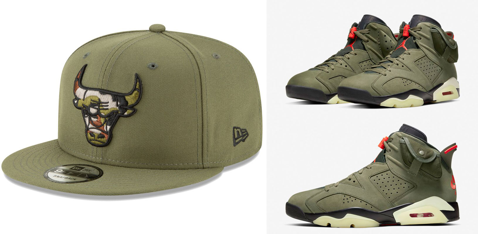 travis-scott-air-jordan-6-olive-bulls-hat-match-2