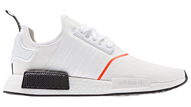 Adidas Nmd R1 Winterized White Solar Red Sneakerfits Com