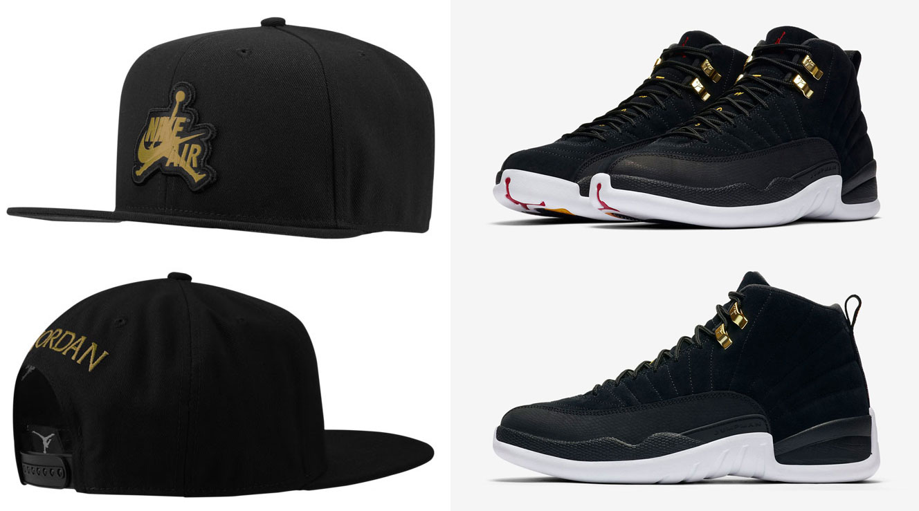 air-jordan-12-reverse-taxi-matching-hat