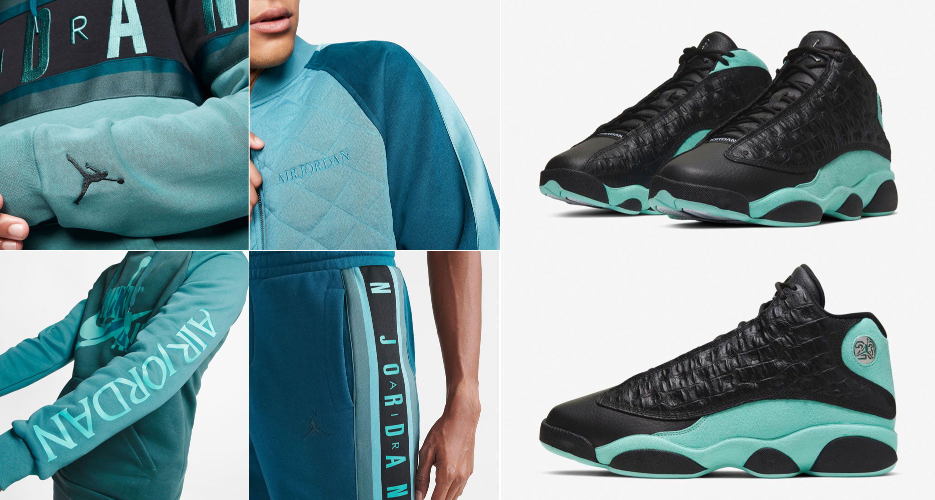 air-jordan-13-island-green-clothing-outfits