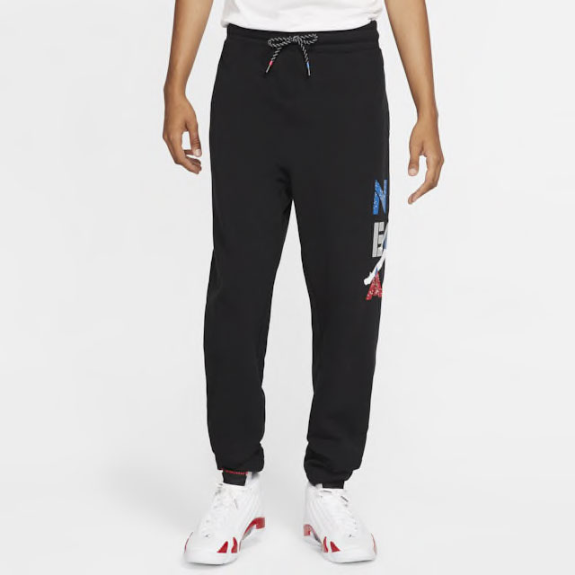 air-jordan-4-what-the-pants-black-1