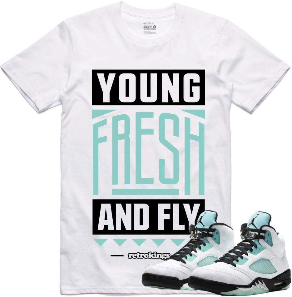 air-jordan-5-island-green-sneaker-tee-shirt-10