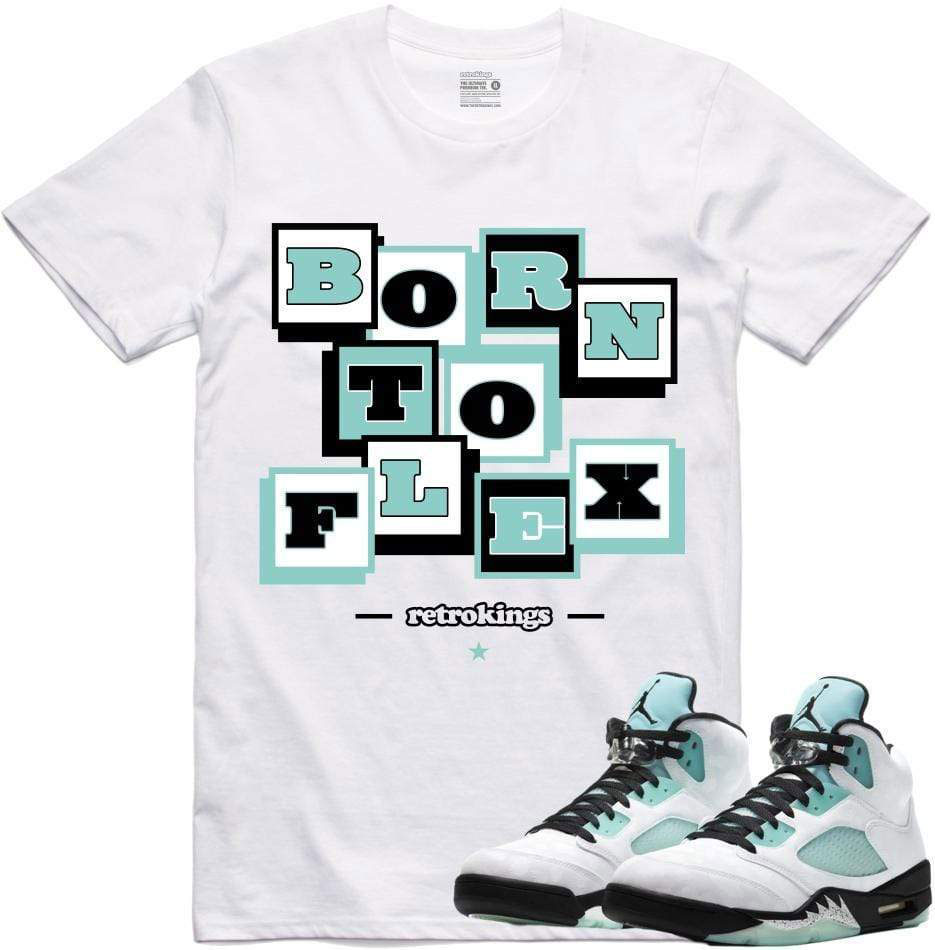 air-jordan-5-island-green-sneaker-tee-shirt-2