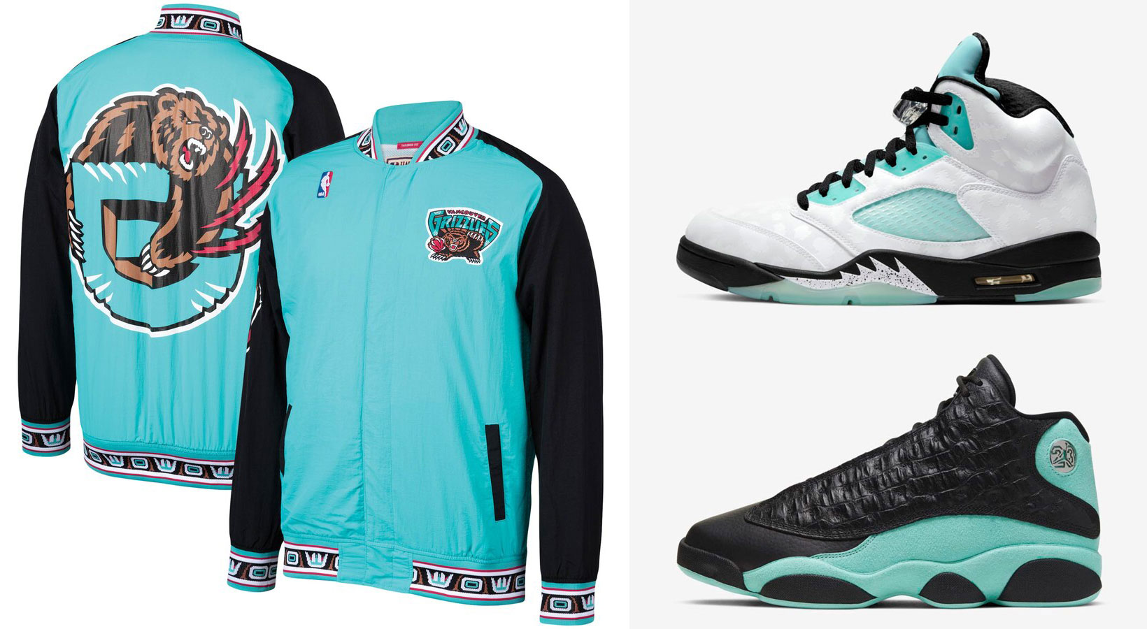 air-jordan-island-green-nba-retro-grizzlies-jacket-match