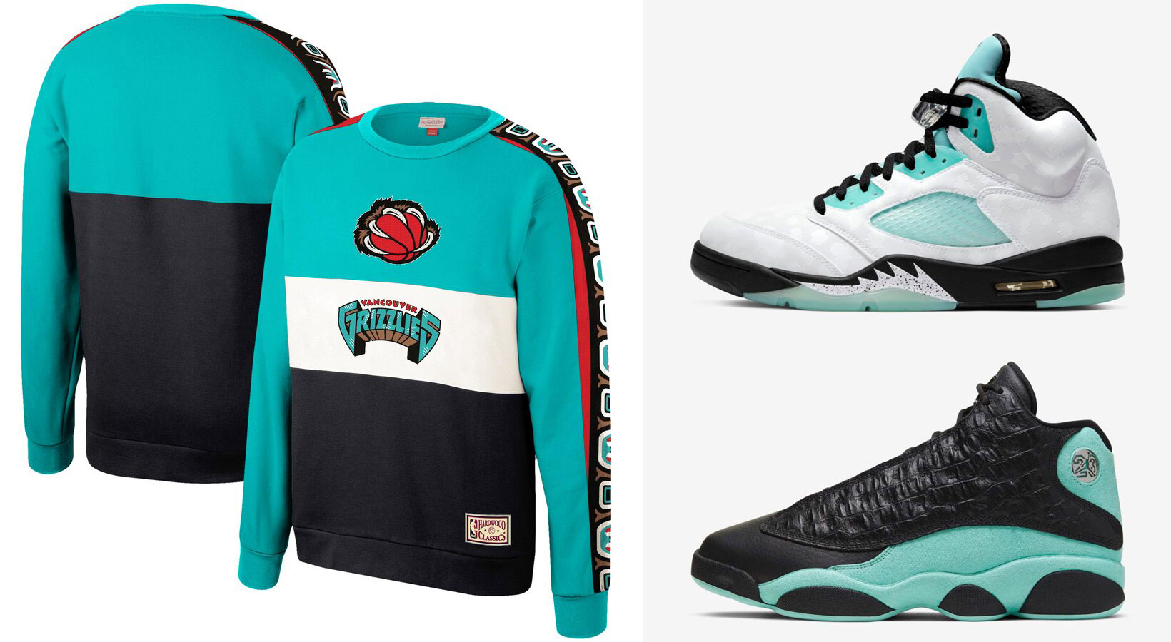 air-jordan-island-green-nba-retro-grizzlies-sweatshirt-match