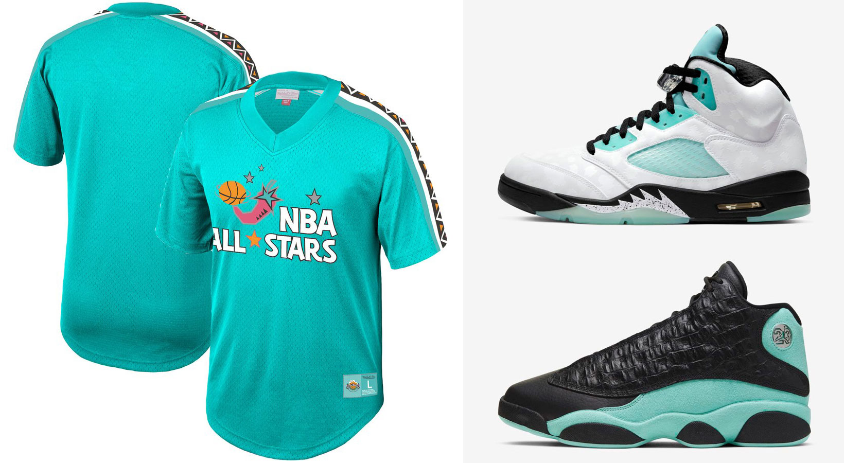air-jordan-island-green-nba-retro-jersey-shirt-match